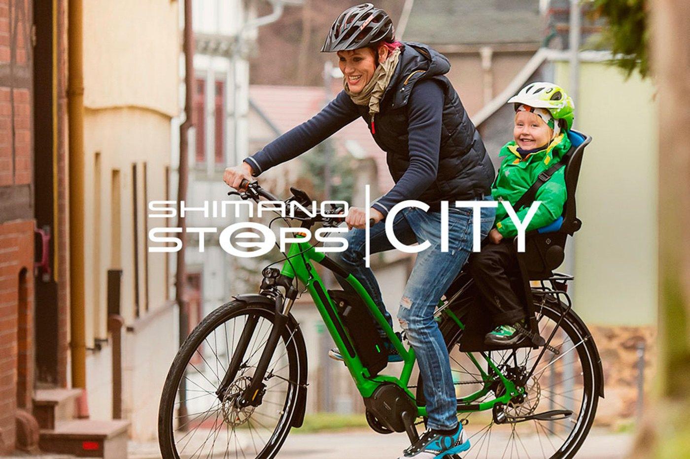 Nuevos componentes del Shimano Steps para e-bikes urbanas, E6002/12