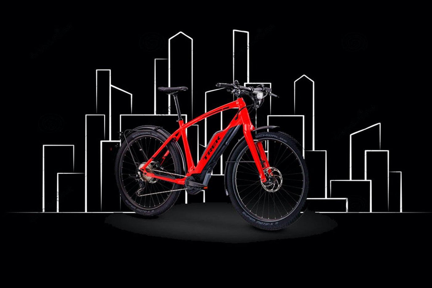 Super Commuter+ la alternativa eléctrica al tráfico urbano de Trek