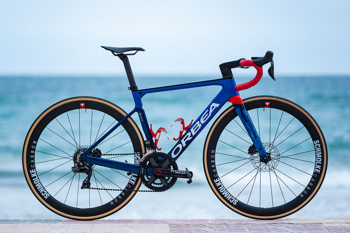 Así es la Orbea Orca OMX del Ceratizit WNT Pro Cycling