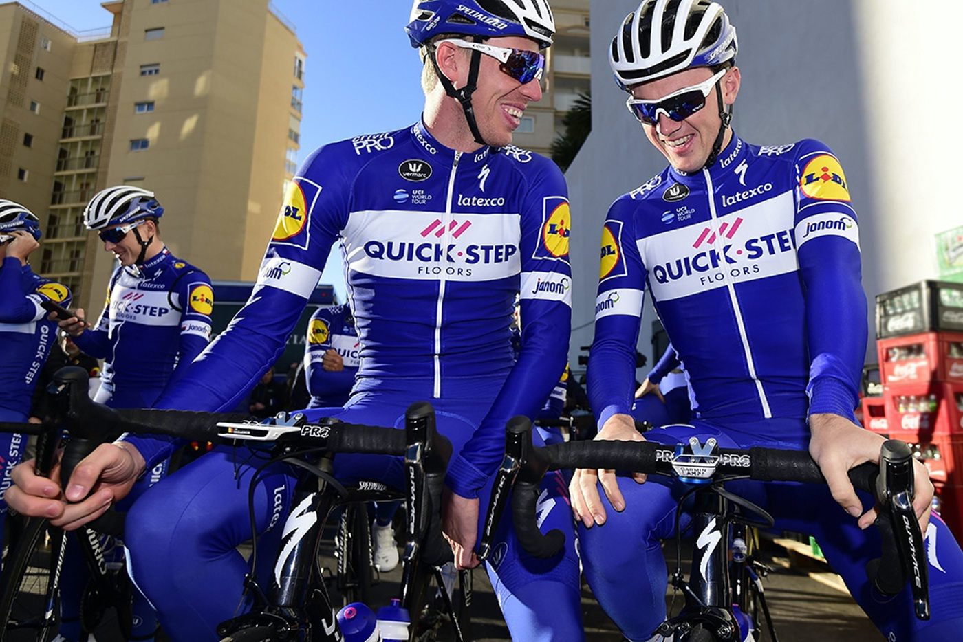 El Quick-Step Floors elige componentes PRO