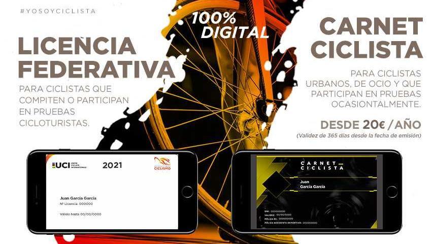 Licencia Federativa y el Carnet Ciclista