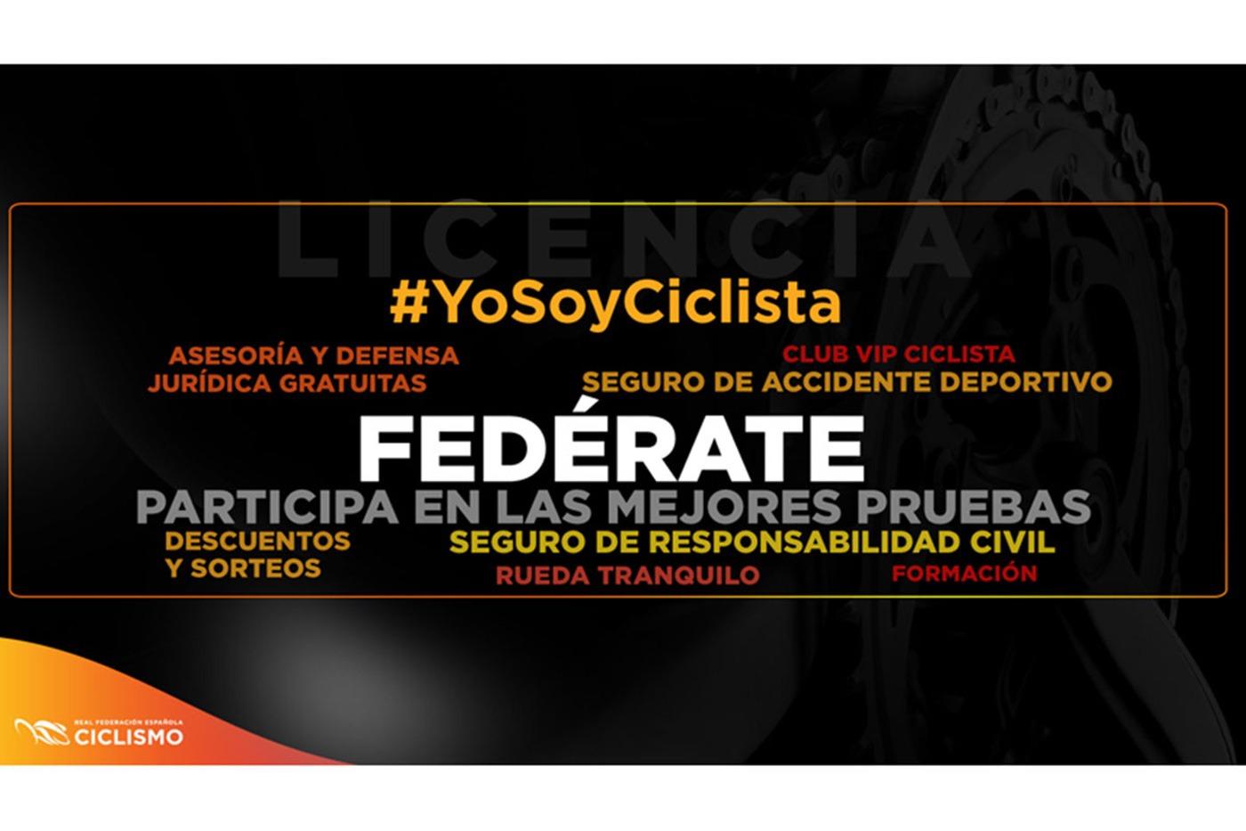 Abierto el plazo para solicitar la Licencias Federativas o Carnet Ciclista 2019