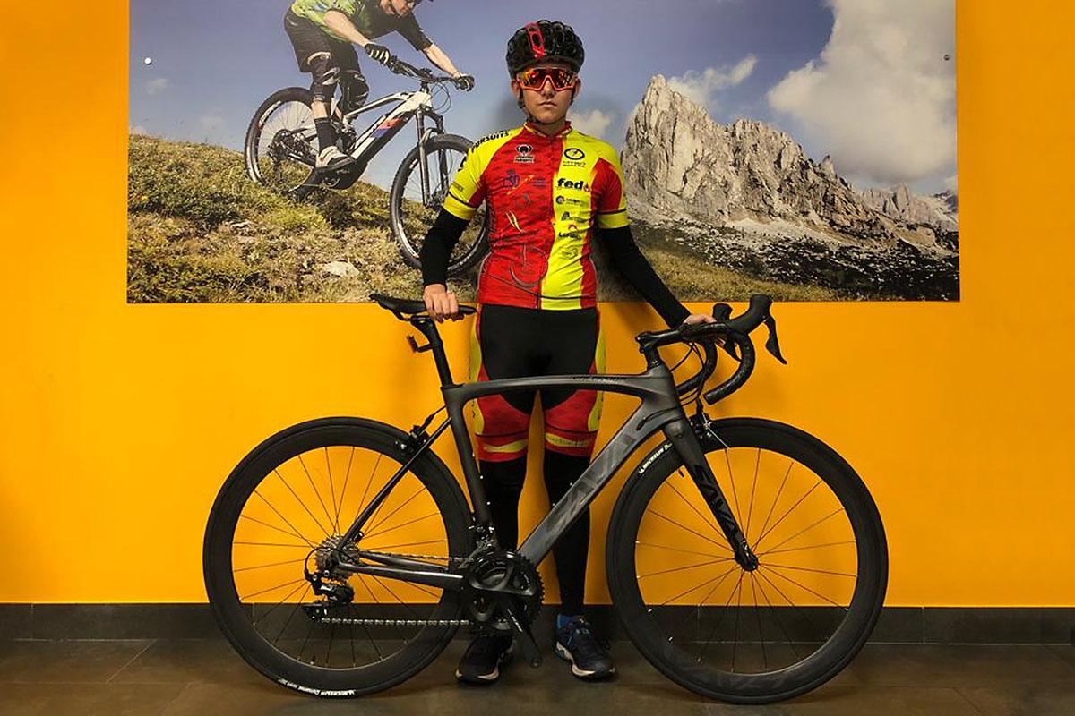 Sava Ebroh ficha a Paula Martín, campeona de España de MTB Orientación