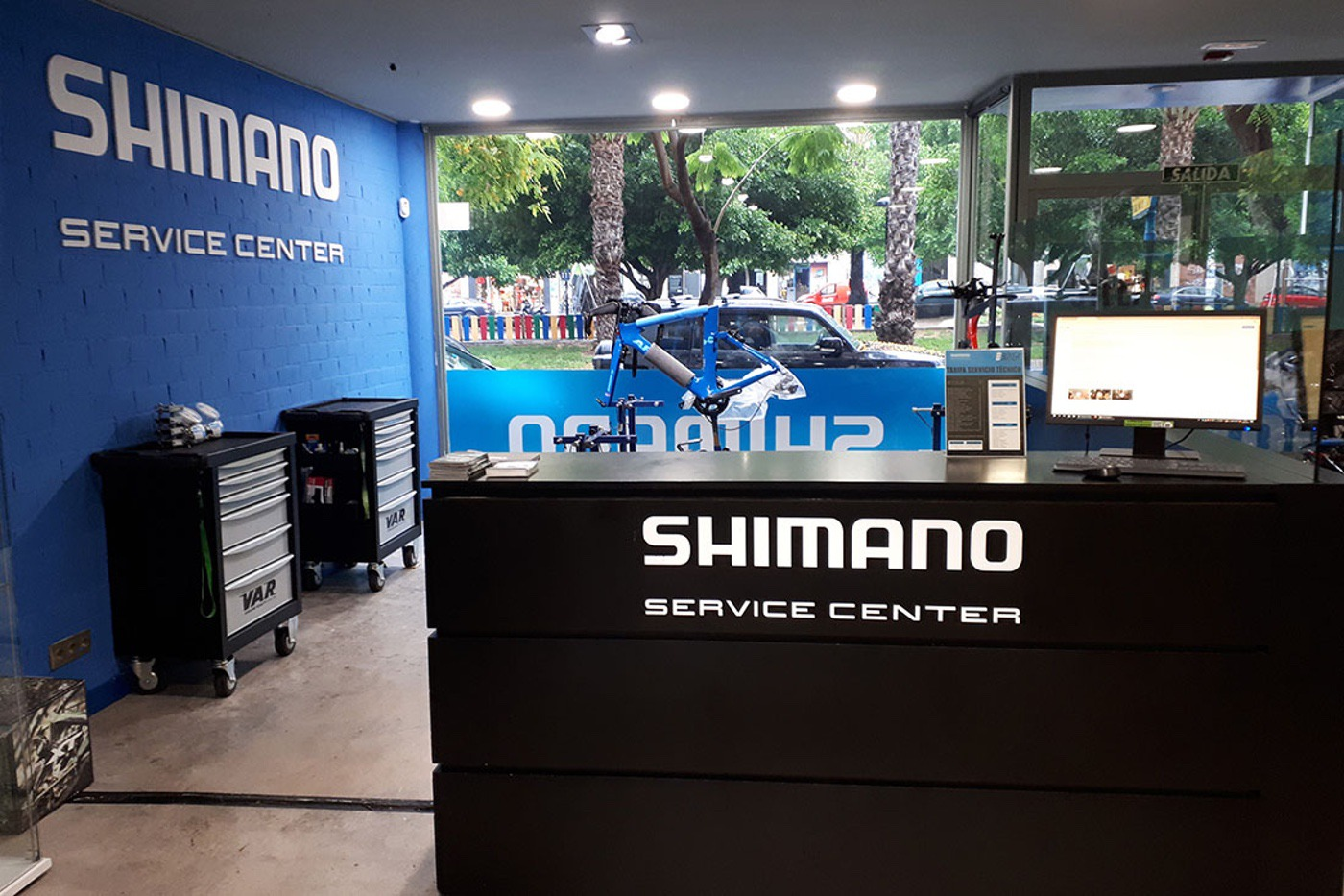 Nuevo concepto de la red Shimano Service Center