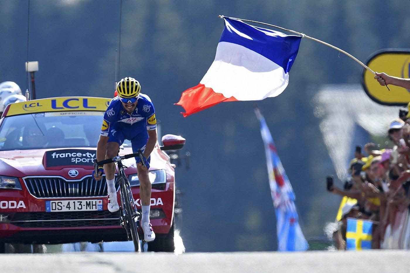 Julian Alaphilippe en el Tour de Francia 2019
