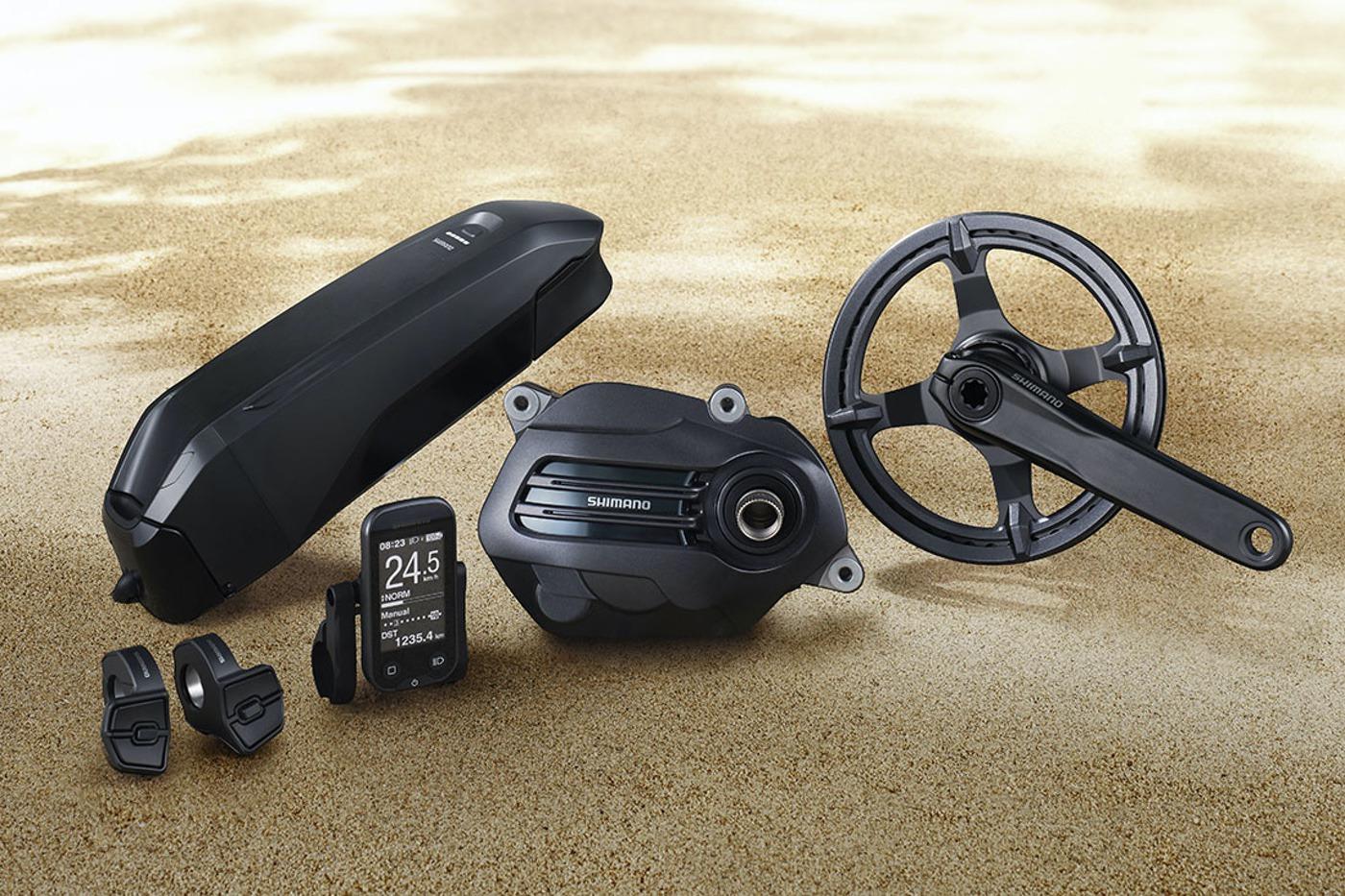 Shimano STEPS E6100 para e-bikes de Trekking y City