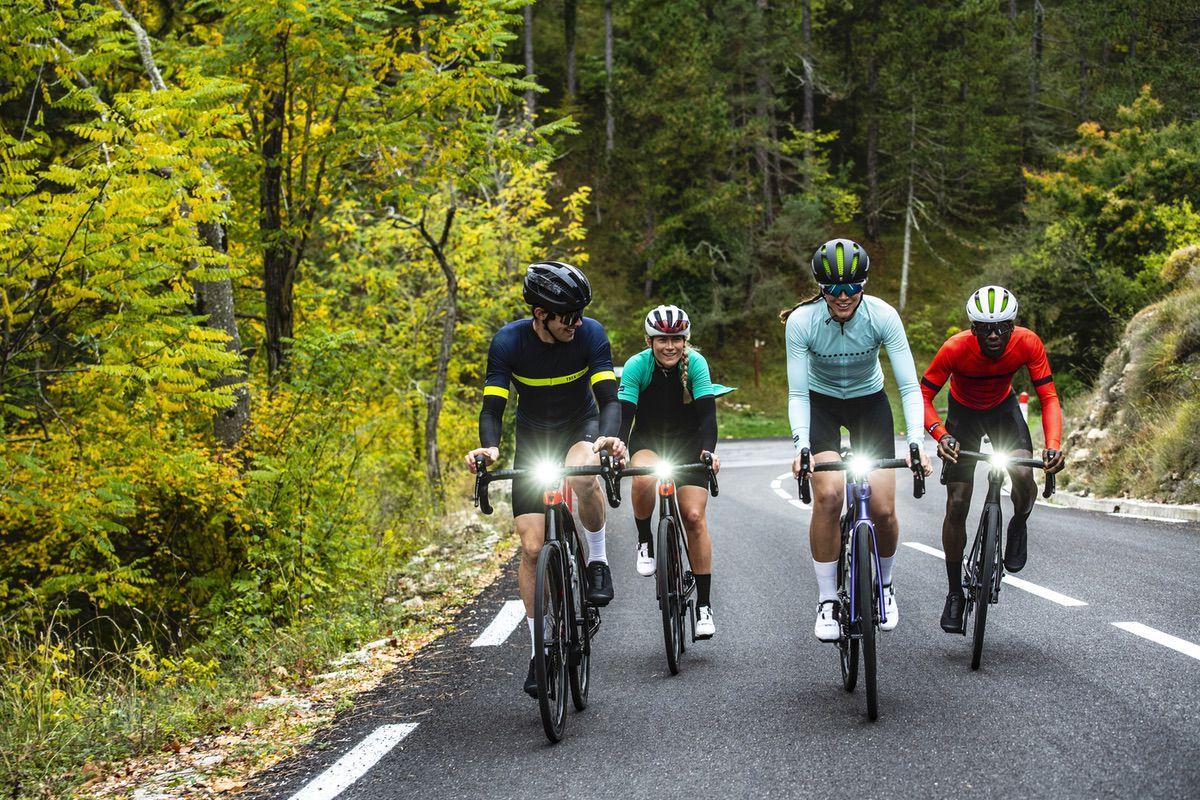 Disfrutando de la carretera con la Trek Domane+LT