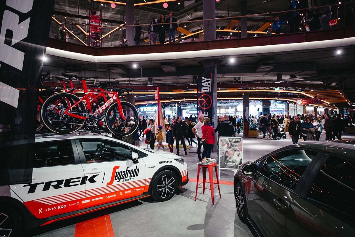 Trek inaugura su quinta tienda propia: Trek X-Madrid