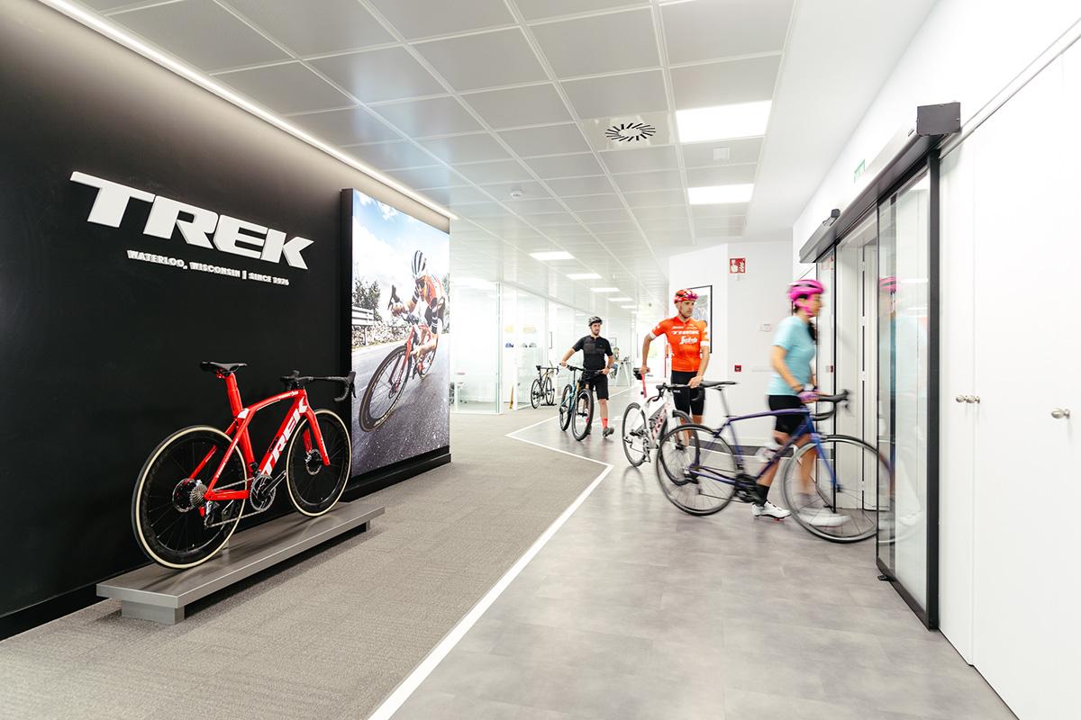 Trek está ubicado dentro del Parque Empresarial Euronova.