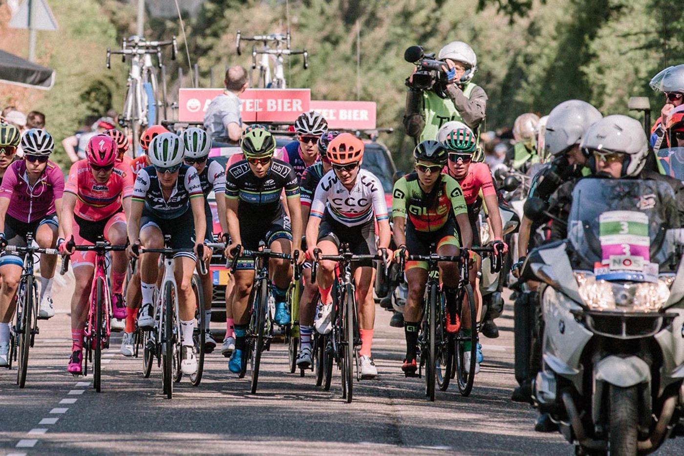 Retransmisión gratuita del Giro Rosa con Trek y Voxwomen