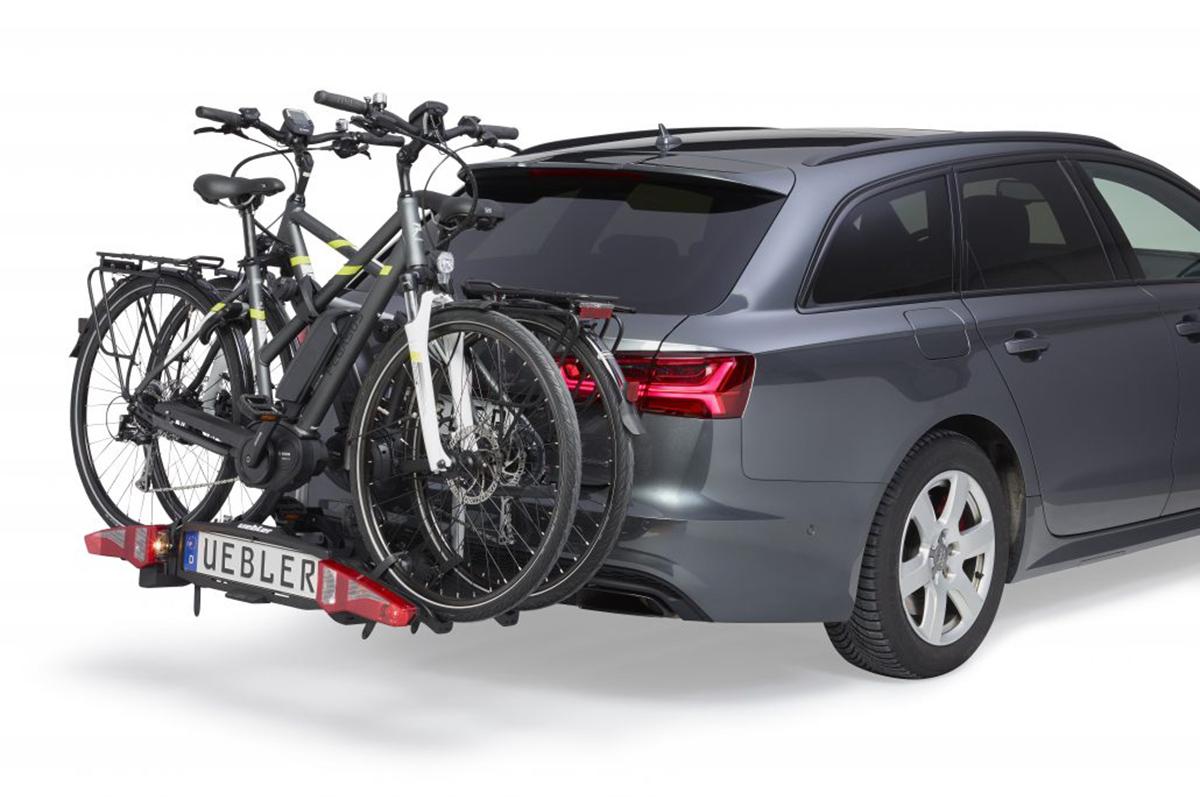 Uebler, la marca de portabicicletas para e-bikes, disponible en España con Vic Sports