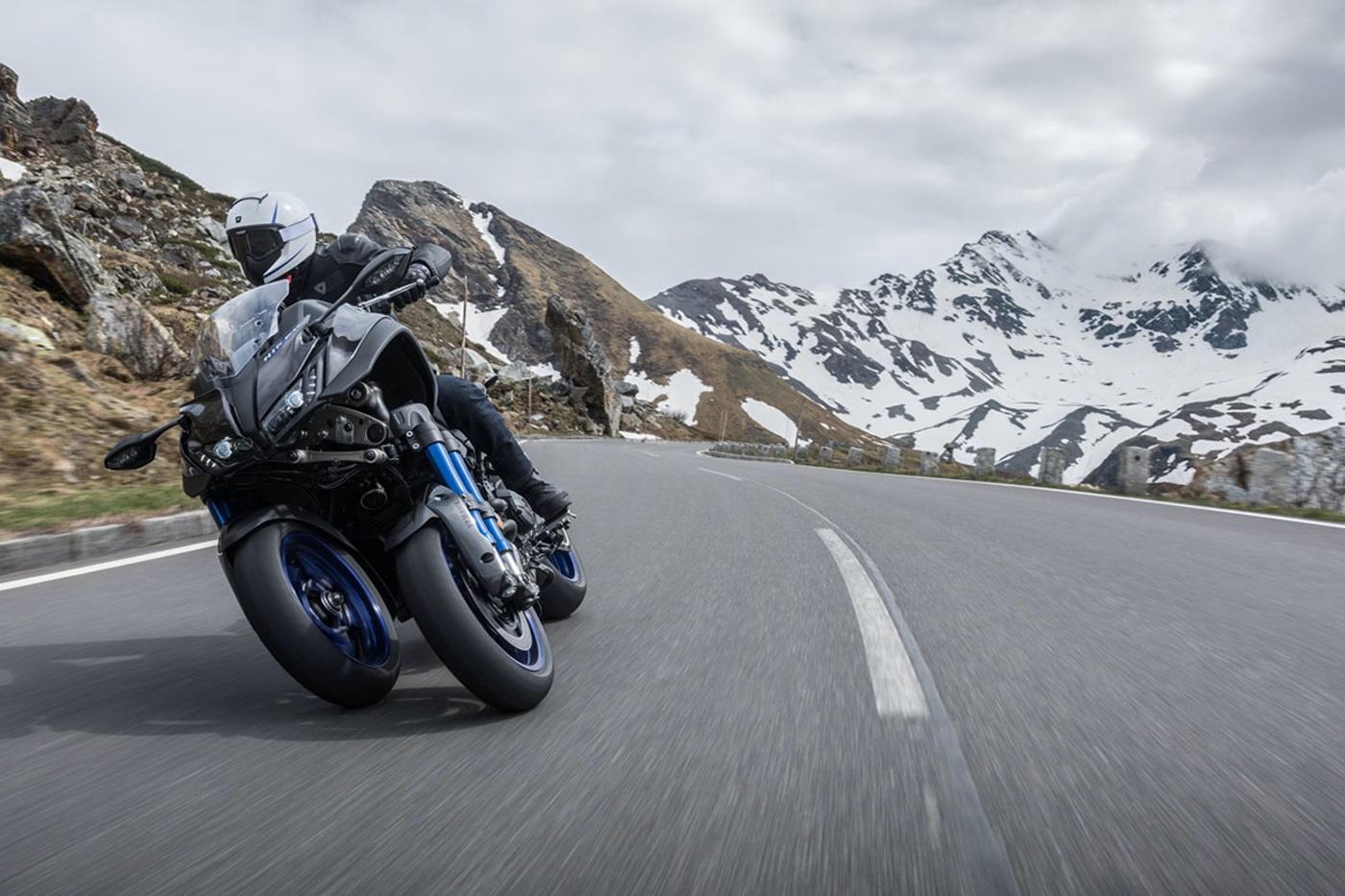 Yamaha Niken: así son las motos oficiales de La Volta