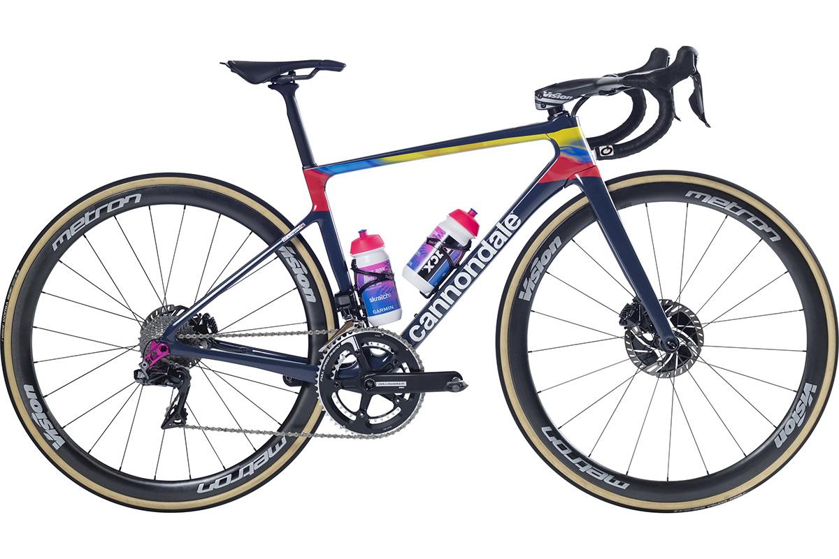 Bici Cannondale de Sergio Higuita durante 2020