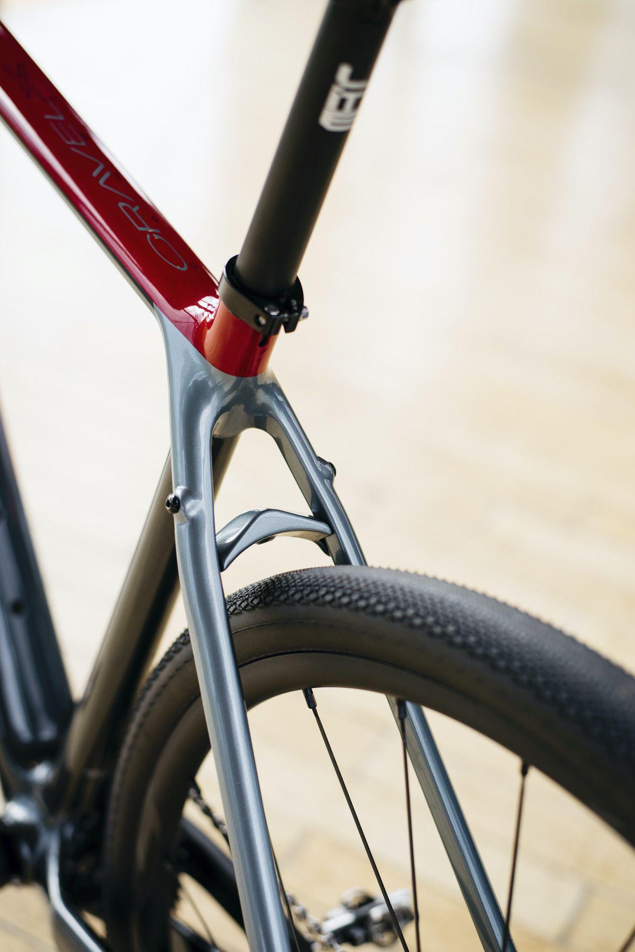 Paso de rueda de la BH Gravel X Carbon
