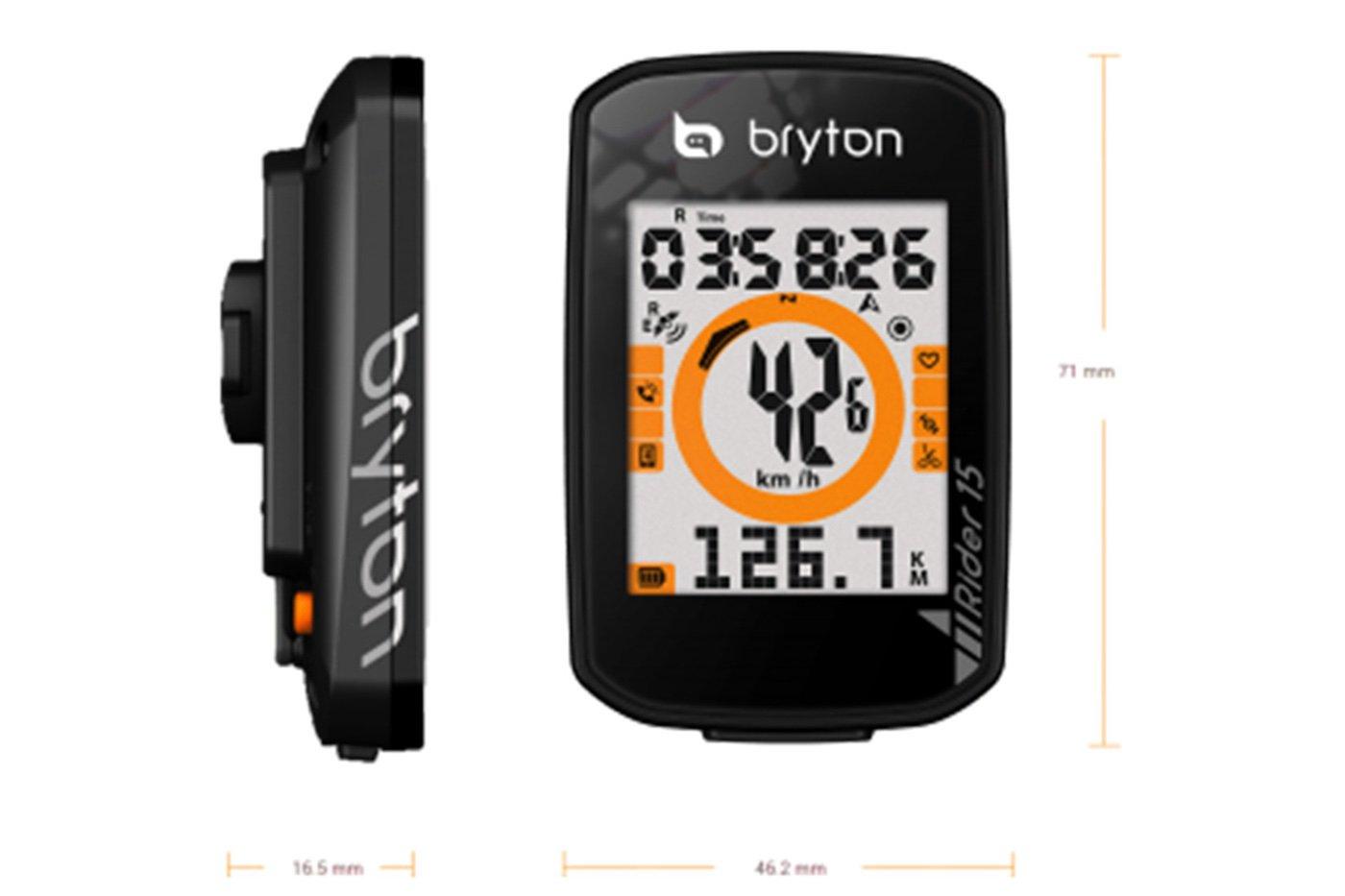 Medidas del Bryton Rider 15