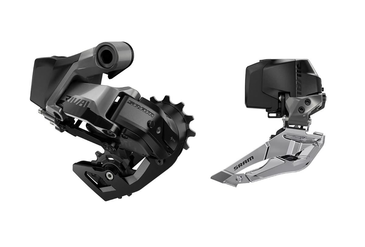 Cambio y desviador SRAM Rival eTAP AXS