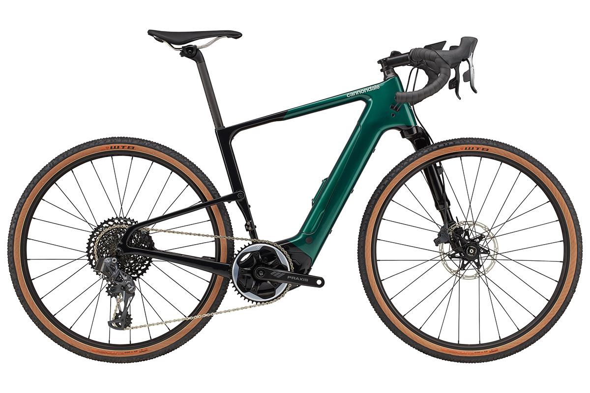Cannondale Topstone Neo Carbon Lefty, una e-bike de gravel con doble suspensión