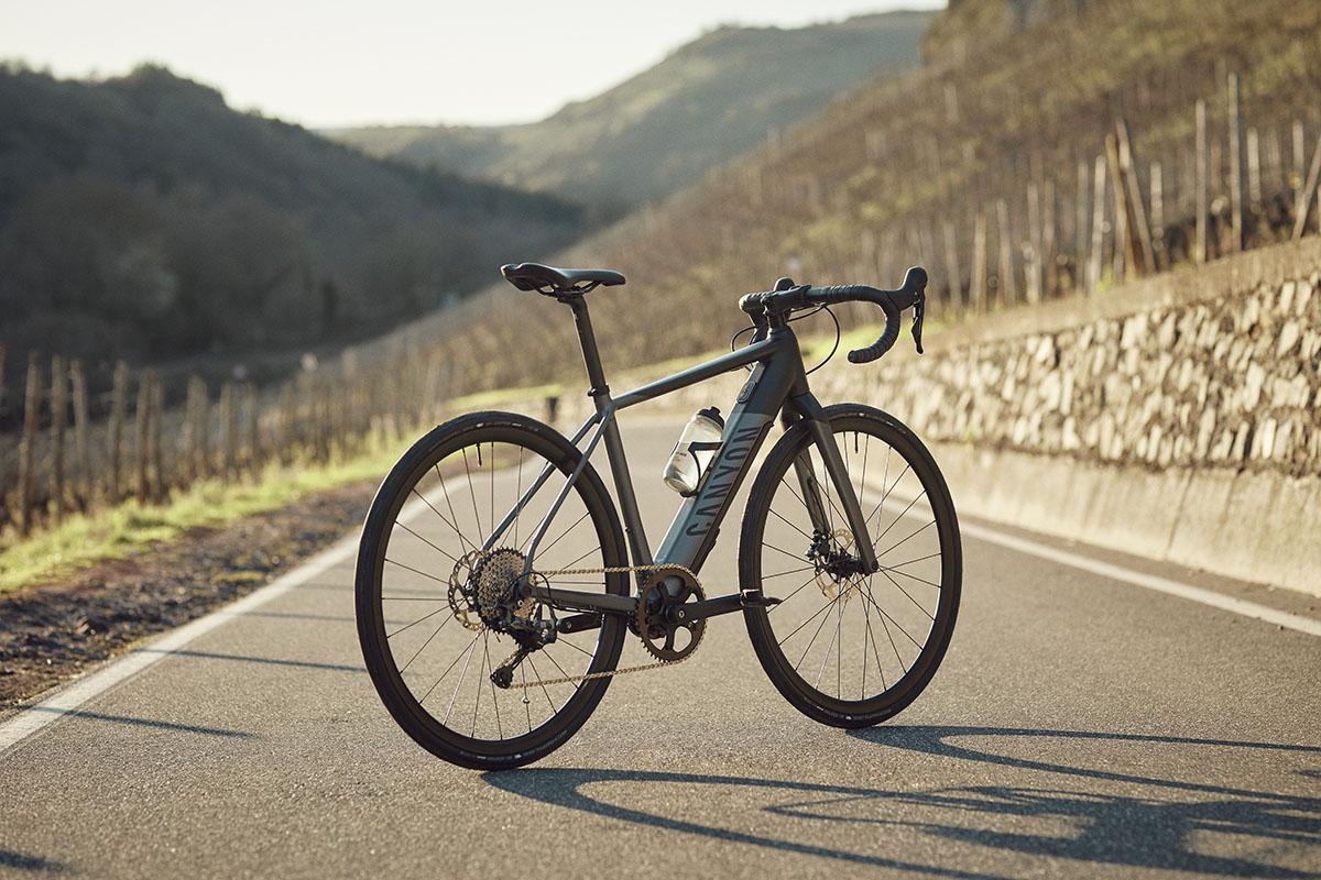 Nueva Canyon Endurace:ON AL la primera e-bike de carretera de Canyon