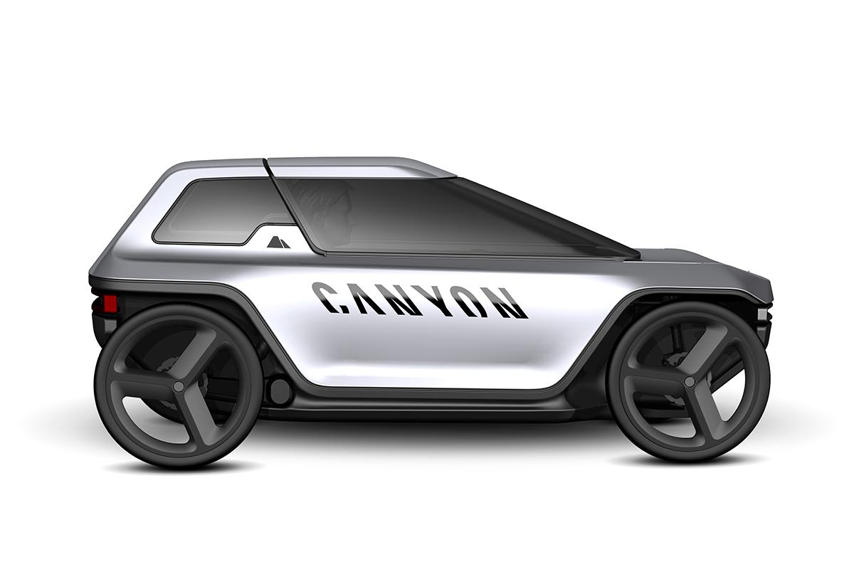 Future Mobility Concept de Canyon