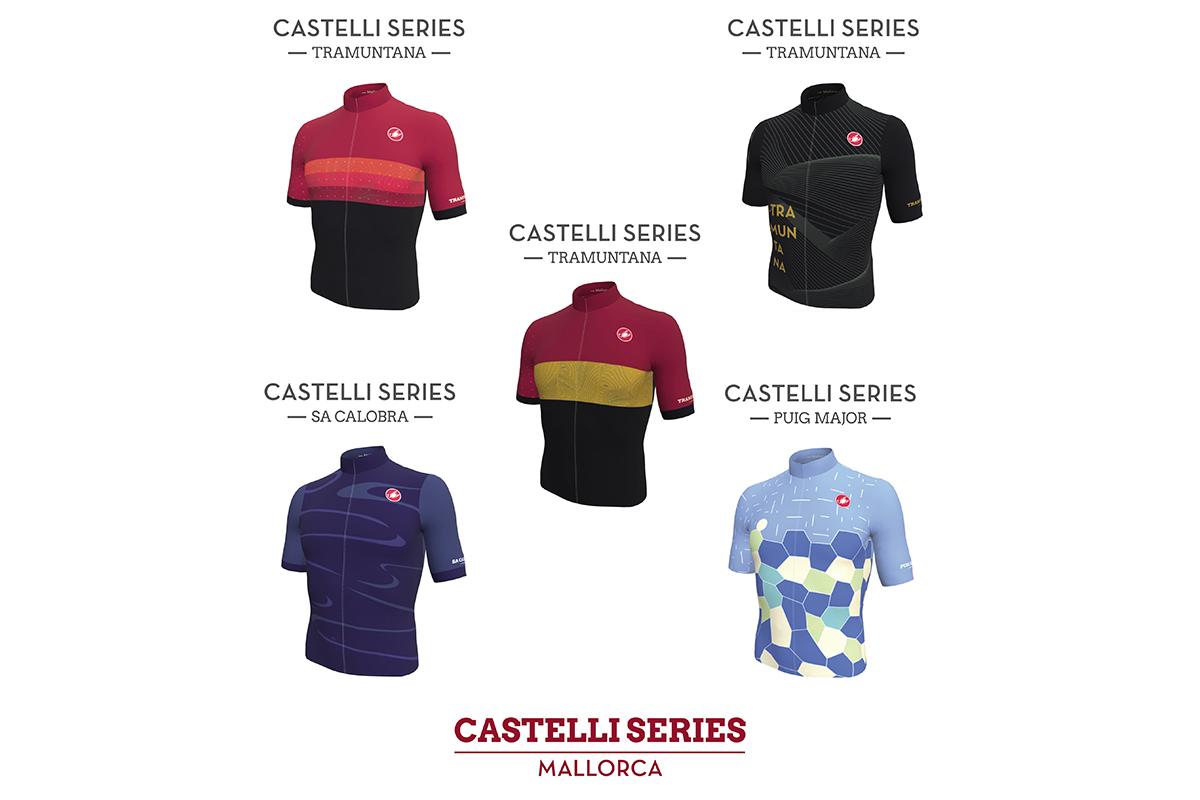 Nueva colección Castelli Series Costa Blanca, Barcelona, Mallorca y Girona