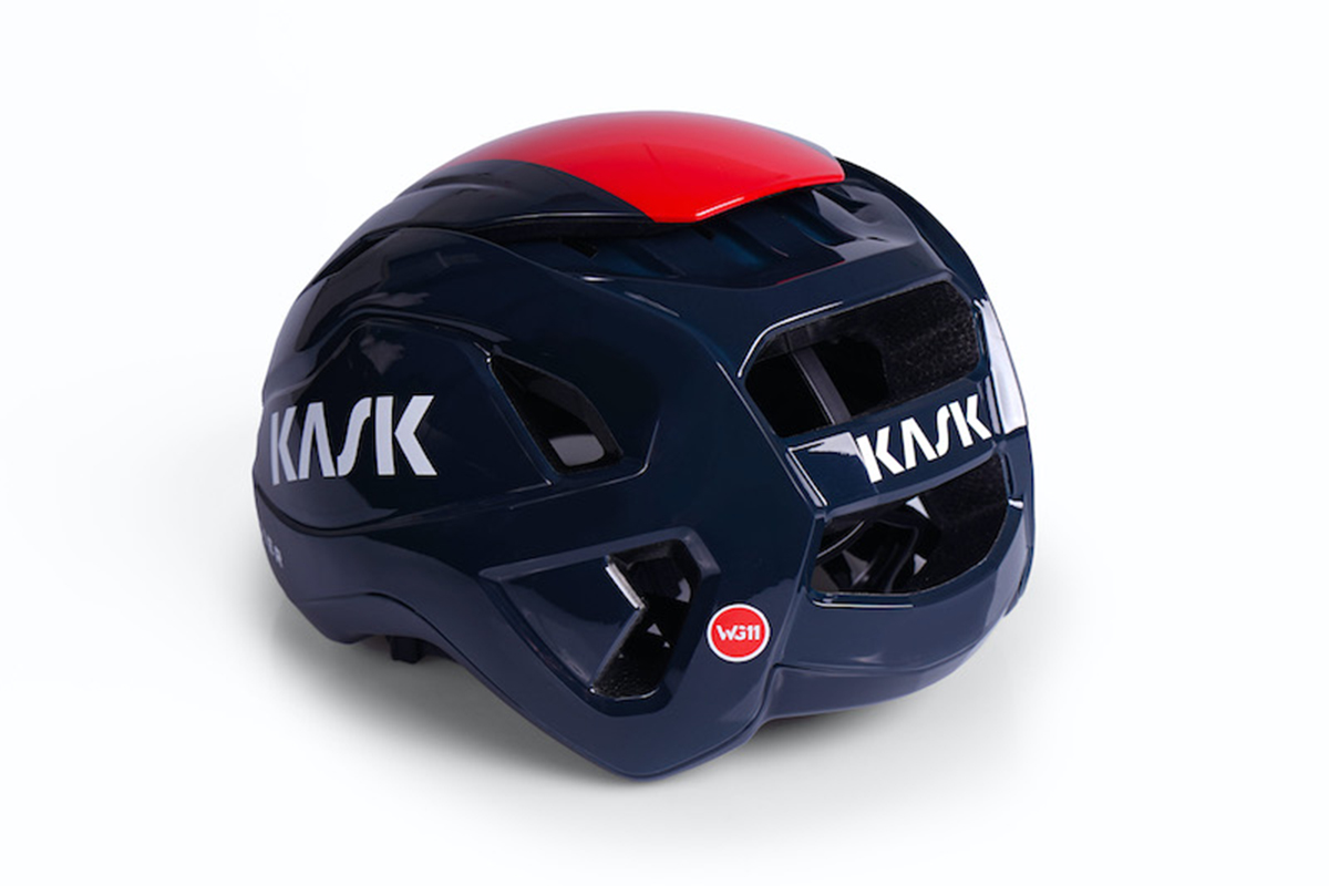 Nuevo casco KASK Wasabi, con canales de aire ajustables para usar todo el año