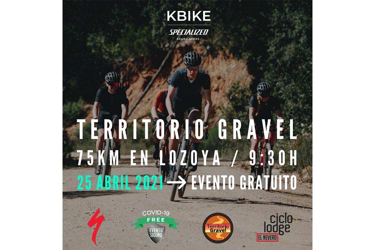 Conoce con KBIKE el Territorio Gravel de la Sierra de Madrid (25 de abril)