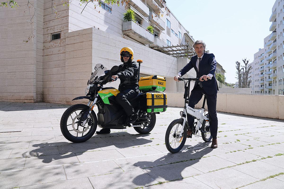Littium te regala la asistencia y responsabilidad civil de RACC al comprar una de sus e-bikes