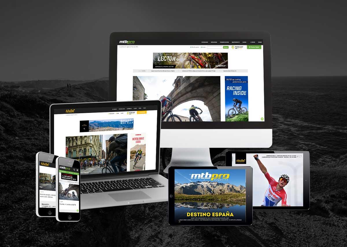 MTBpro y Maillot Mag: Las publicaciones de ciclismo de 1mas1