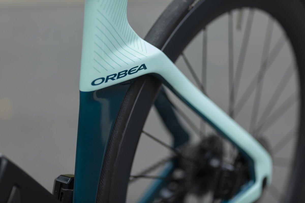Detalle de la aerodinámica de la Orbea Ordu