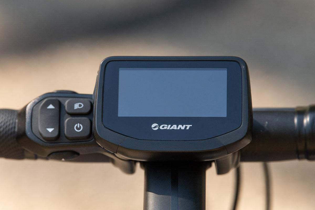 Display RideControl EVO de la Giant Road E+ Pro 2020