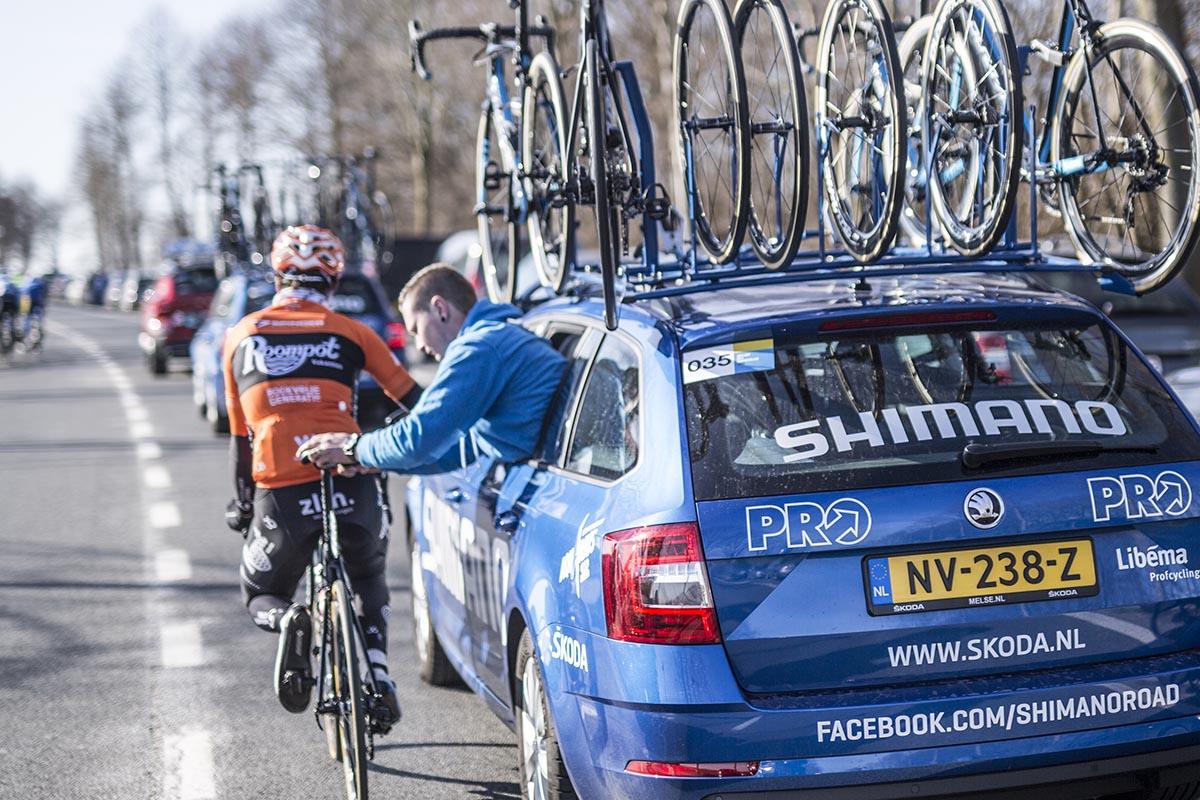 Shimano y sus coches neutros también serán la asistencia en carrera del Tour