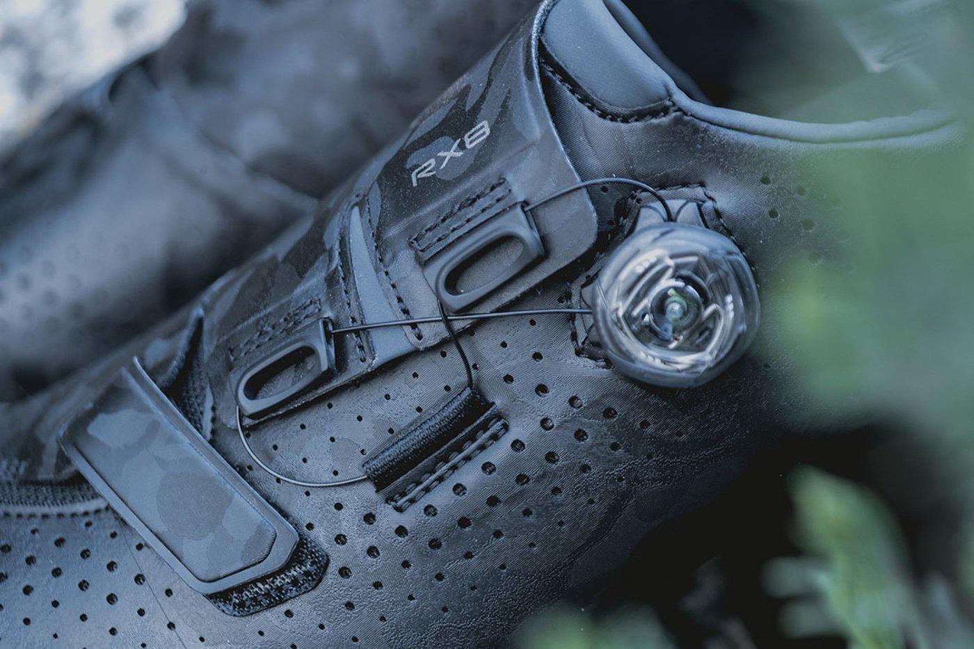 Nuevas zapatillas Shimano RX8 para el Gravel más agresivo