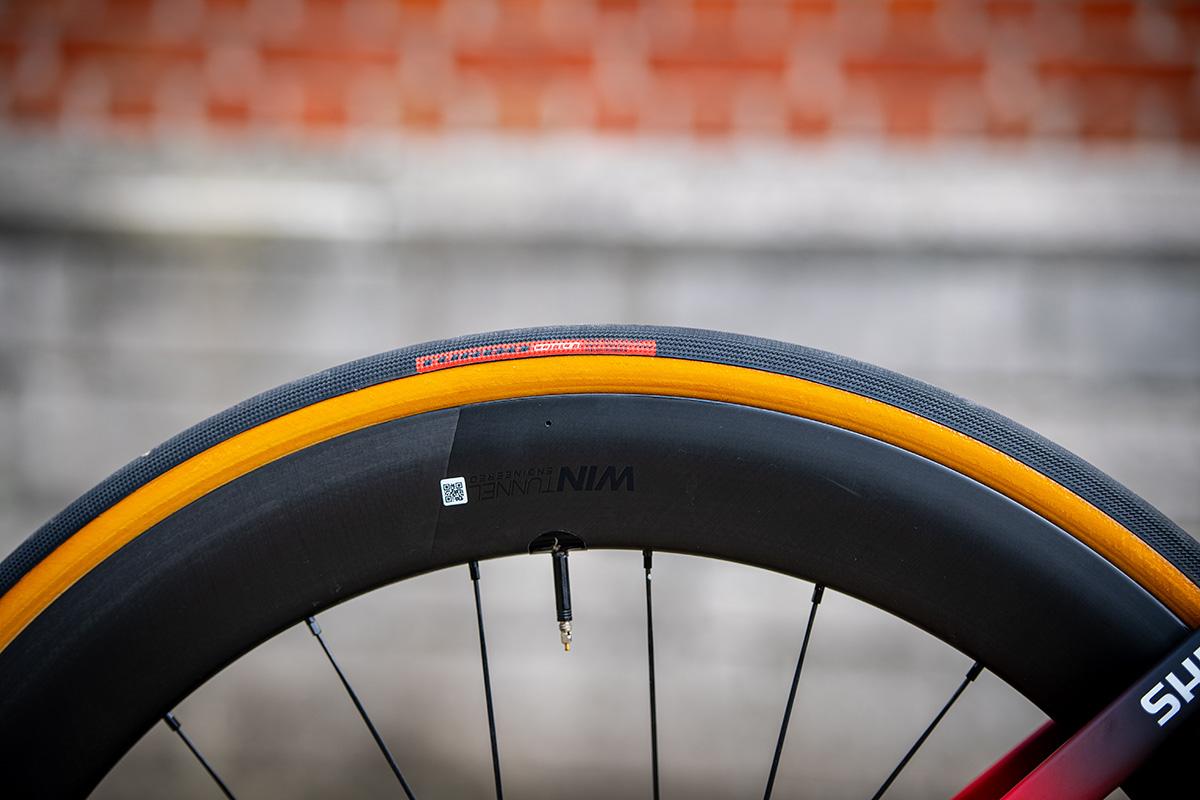 Los neumáticos Specialized Turbo Cotton Hell of the North con los que Kasper Asgreen ganó en Flandes