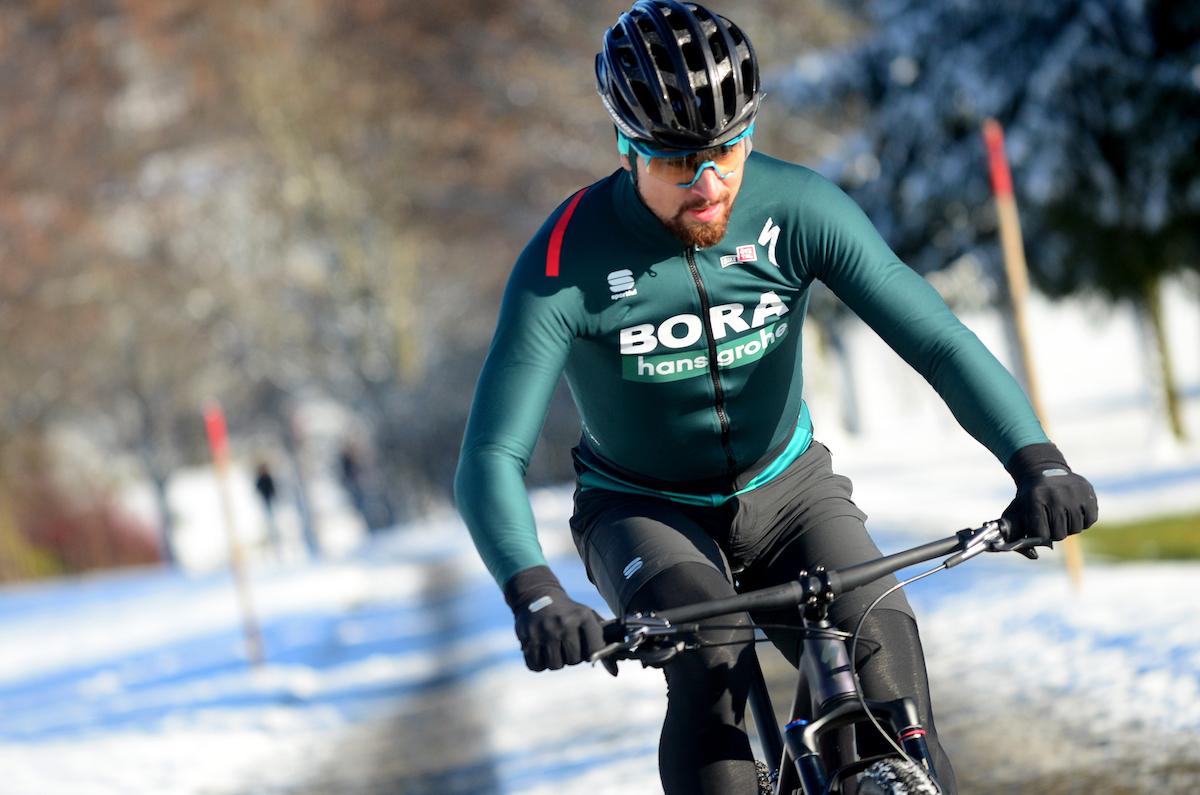 Peter Sagan con la nueva equipación Sportful Bora-Hansgrohe 2020