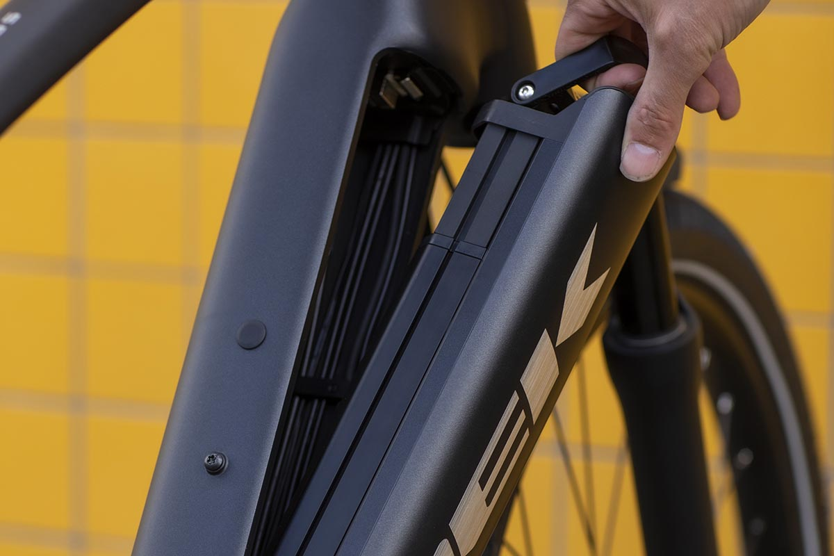 Removable Integrated Battery (RIB) de Trek en la Allant+