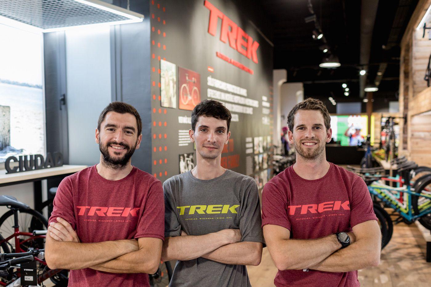 El equipo de Trek Barcelona Centre