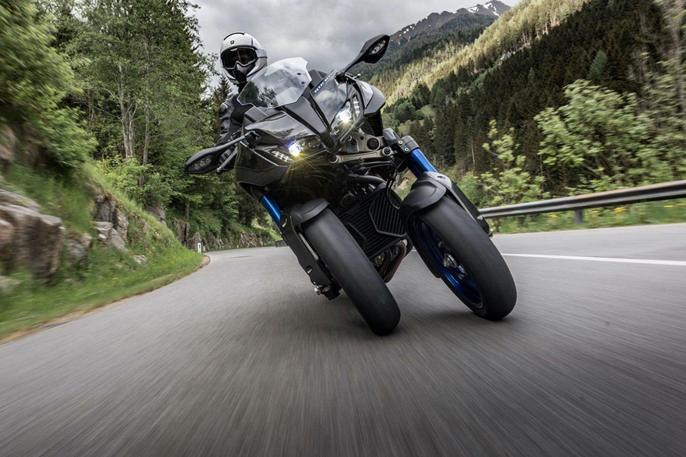 Yamaha Niken GT: así son las motos oficiales de La Volta