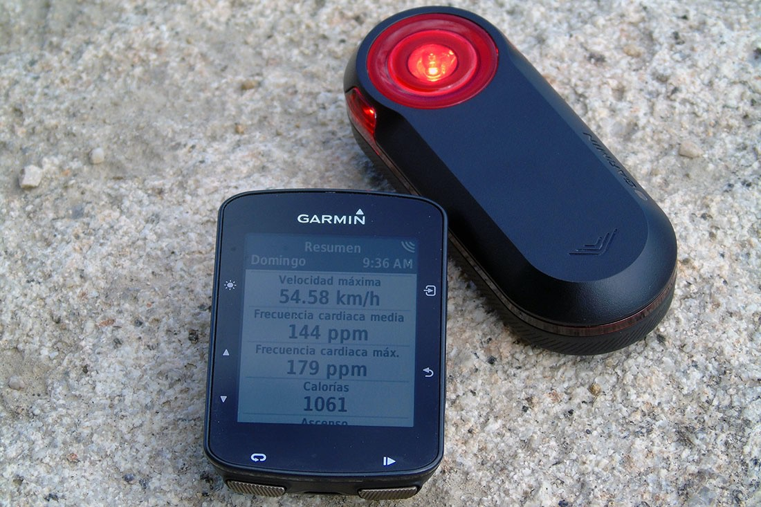 GPS Garmin Edge 520 Plus y luz Varia RTL 510