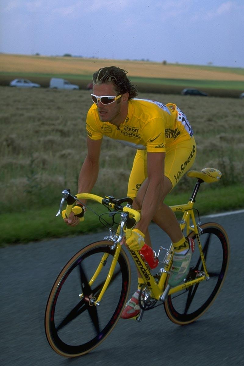 Saeco Cannondale CAAD3 de 1997 de Marco Cipollini