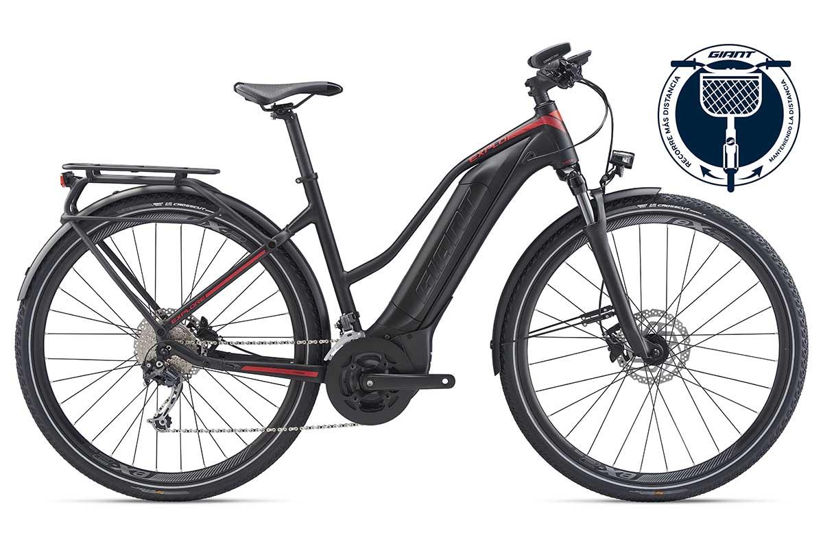 Giant Explore E+ 2 STA, una e-bike de trekking y ciclismo urbano por 2.599 €