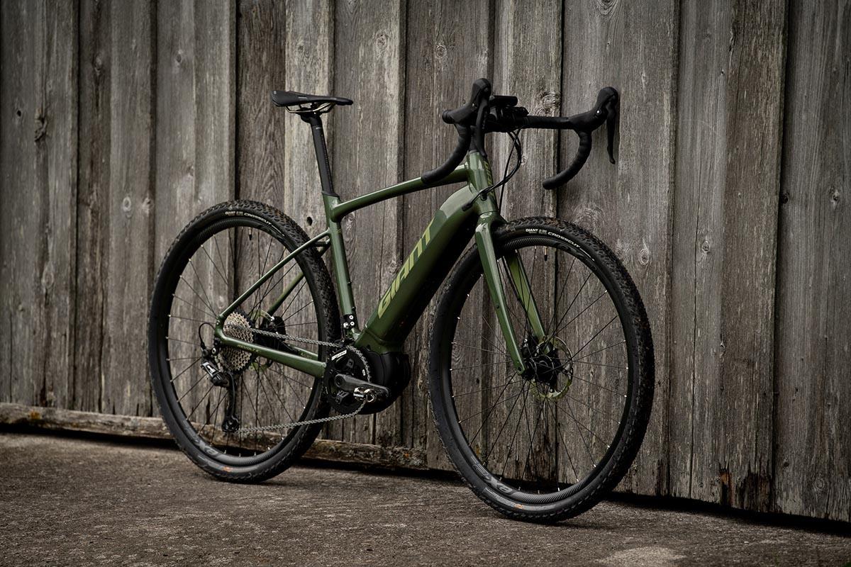 Nueva Giant Revolt E+ Pro, la e-bike gravel de Giant