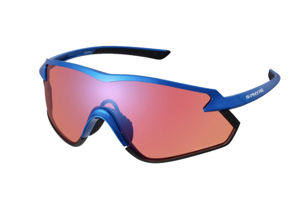 Modelo de gafas Shimano S-PHYRE X con lentes Ridescape