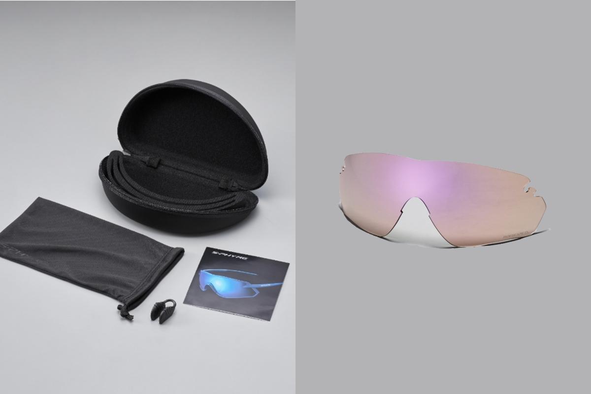 Detalle de la caja del modelo de gafas Shimano S-PHYRE X
