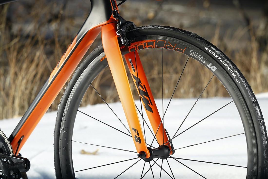 Horquilla de la KTM Revelator Alto Prestige