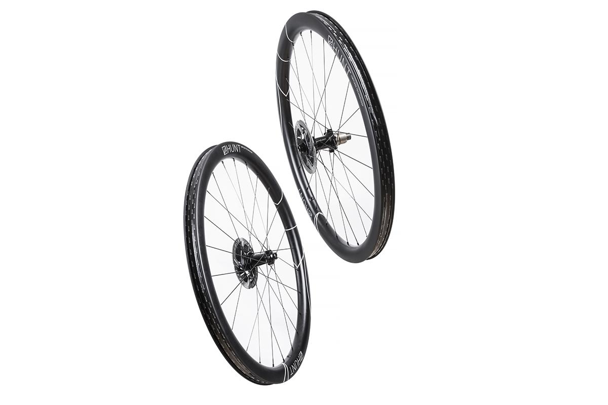 Nuevas ruedas HUNT 42 Limited Gravel Disc: aerodinámica para gravel