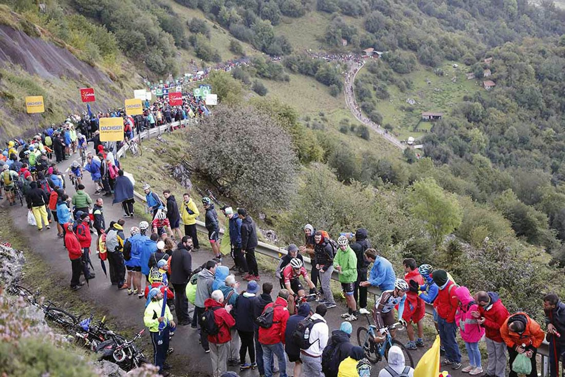 Las 8 llegadas en alto de La Vuelta18