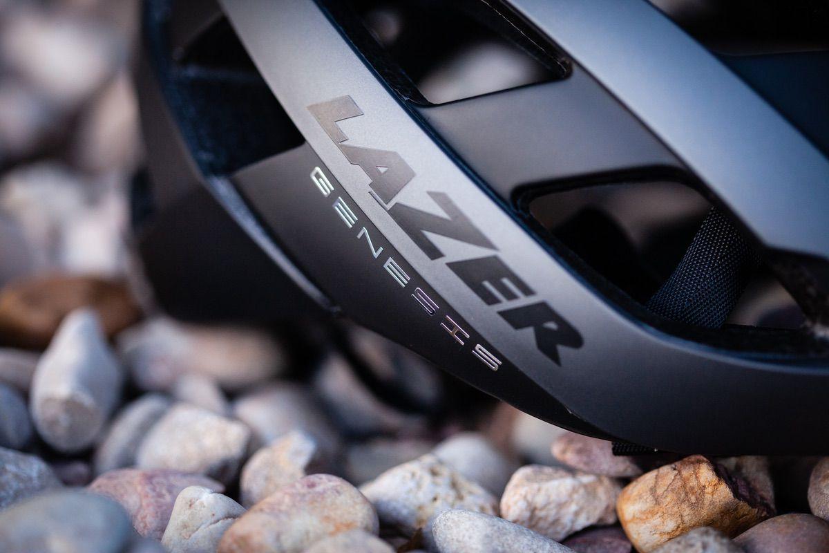 Detalle del casco Lazer Genesis