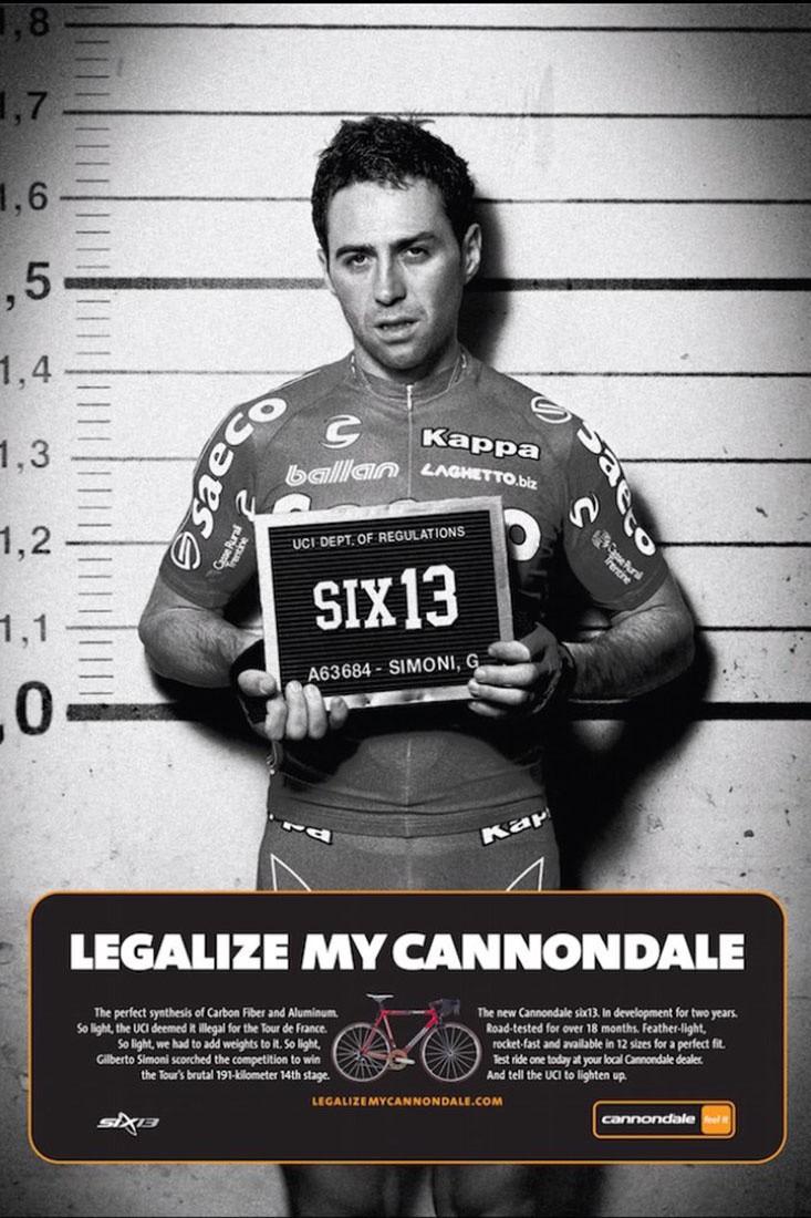 ¿Qué ocurrió…? Legalize My Cannondale