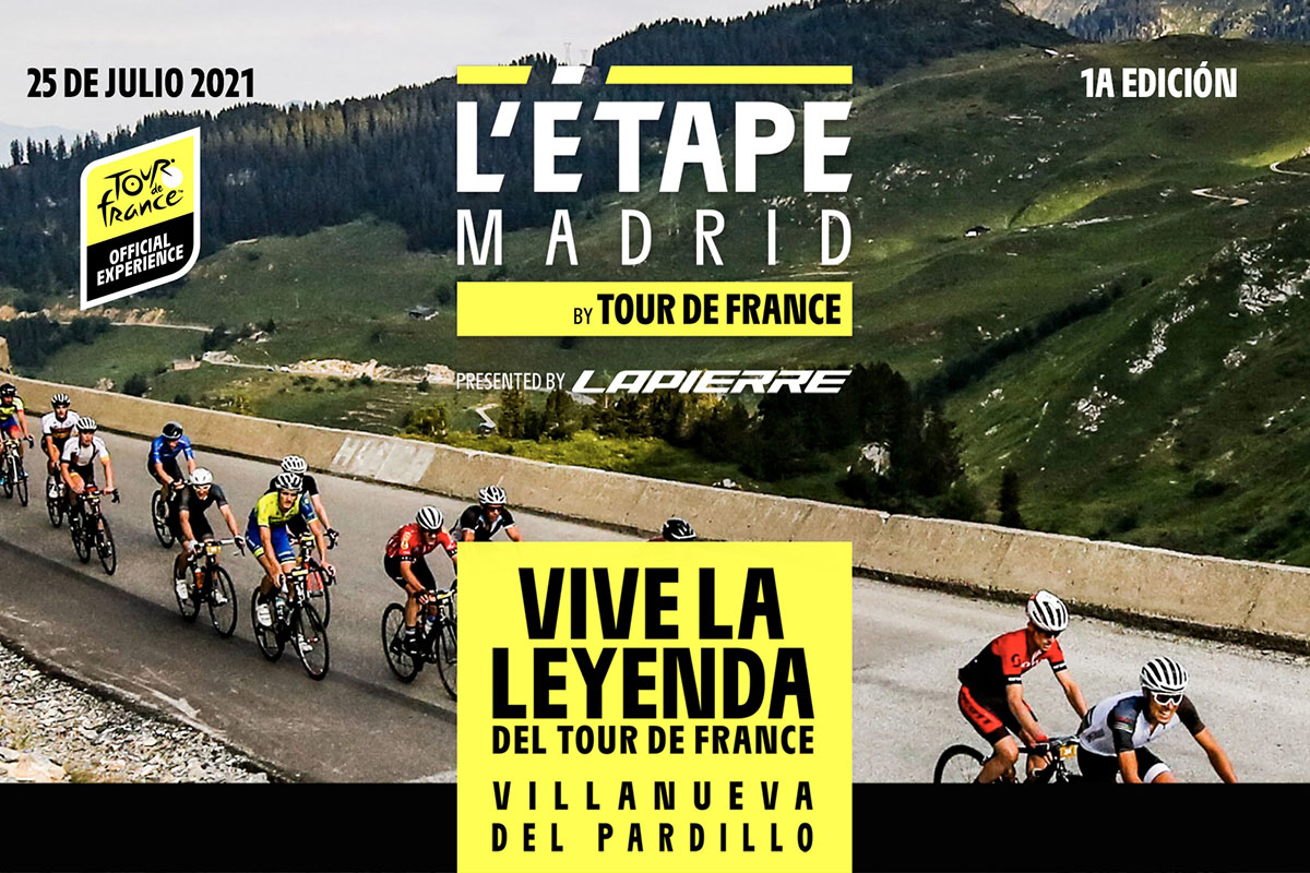 Llega la primera edición de L'Étape Madrid by Tour de France Presented by Lapierre