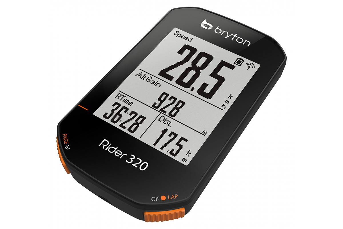 Los mejores GPS y ciclocomputadores de Alltricks - Bryton Rider 320